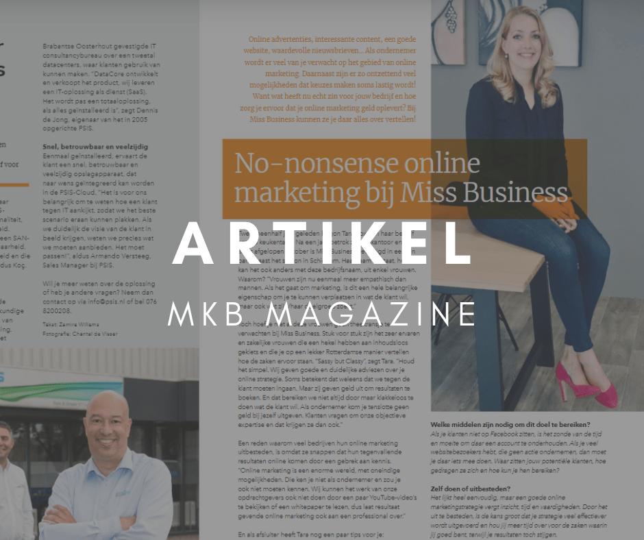 mkb rotterdam magazine